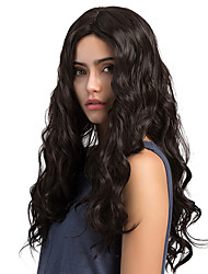 Ethereal Black High quality Long Curly hair Synthetic Wigs