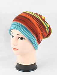 cheap -Women's Cute Casual Cotton Beanie/Slouchy Floppy Hat Stripe Print