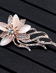 cheap -Women's Brooches - Flower, Animal Brooch Gold For Wedding / Party / Special Occasion
