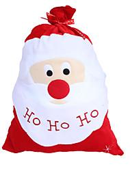 Недорогие -Рождественские изделия pleuche рождественский подарок сумка большой подарок Санта-Клауса подарочные сумки Санта-Клаус сумка назад
