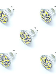 cheap -5pcs 5W GU10 LED Spotlight 72 SMD 2835 Warm/ Cool White Decorative Led Lamp Lampada LED Bulb Energy Saving Home Light AC220-240V