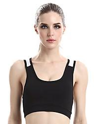 cheap -Women's Running Crop Top Fitness, Running & Yoga Anti-Shake/Damping Sweat-wicking for Yoga Pilates Exercise & Fitness Cycling / Bike