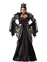 Da principessa Regina Costumi da vampiro Cosplay Costumi Cosplay Stile Carnevale di Venezia Vestito da Serata Elegante Donna Halloween
