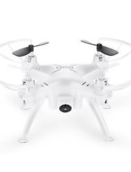Drone TK106RHW 4 canaux Avec l'appareil photo 0.3MP HD Eclairage LED Quadri rotor RC Câble USB Hélices Tournevis