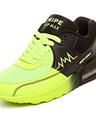 cheap -Women's Athletic Shoes Comfort Spring Fall PU Outdoor Flat Heel Orange Green Blue Flat
