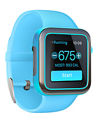 Smart watchResistente all'acqua Long Standby Calorie bruciate Contapassi Registro delle attività Telecamera Touch Screen Distanza del