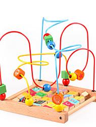 baratos -Blocos de Construir Brinquedos Matemáticos Brinquedos Tamanho Grande De madeira Crianças Peças