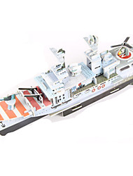 cheap -3D Puzzle / Jigsaw Puzzle / Model Building Kit Warship / Aircraft Carrier / Ship DIY High Quality Paper Classic Kid's Unisex / Boys' / Girls' Gift