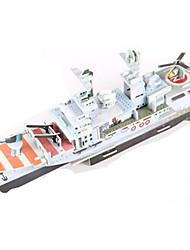 Недорогие -3D пазлы / Пазлы / Наборы для моделирования Военные корабли / Авианосец / Корабль Своими руками Высококачественная бумага Классика Детские Универсальные / Мальчики / Девочки Подарок