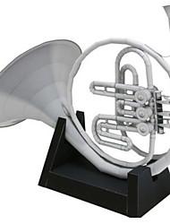 Недорогие -3D пазлы Бумажная модель Оригами Наборы для моделирования Квадратный Музыкальные инструменты 3D моделирование Предметы интерьера Своими