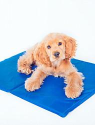 Gato Cachorro Camas Animais de Estimação Capachos e Alcochoadas Sólido Dobrável Azul Escuro