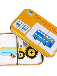 Недорогие -Обучающая игрушка Пазлы Образовательные игры с карточками Игрушки Квадратный Friut Для детей Куски
