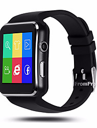 cheap -MTK6260A  X6 Bluetooth Smart Watch Surface Screen Card Can Call The Watch