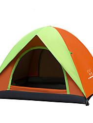 LINGNIU® 3-4 persone Tenda Igloo da spiaggia Doppio Tenda da campeggio Una camera Tenda ripiegabile Ompermeabile Tenere al caldo