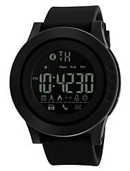 SKMEI Per uomo Orologio sportivo Smart watch Orologio digitale Digitale PU Banda Nero