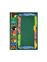 abordables -Caricatura De moda Personas Pegatinas de pared Calcomanías de Aviones para Pared Adhesivos de Pared NegrosCalcomanías Decorativas de