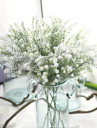 cheap -27inch Large Size 5 Branch Silk Polyester Baby Breath Tabletop Flower Artificial Flowers