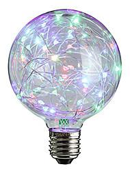 2W E27 LED Kugelbirnen 25 Leds Dip - Leuchtdiode Dekorativ Warmes Weiß RGB 100-200lm 2800-3200