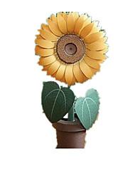 abordables -Puzzles 3D Puzzle Loisirs Créatifs en Papier Kit de Maquette Soleil Spot Multicouleur Fleur Simulation Articles d'ameublement A Faire