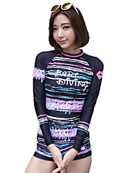South Korea Diving Suits Women Diving Suits Outdoor Surf Suits Sunscreen Swimsuits Fast Dry Zipper Digital Printing Suit