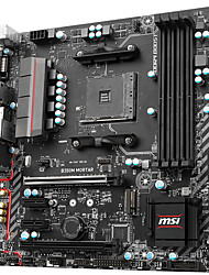 MSI b350m mortaio madre AMD B350 / presa am4
