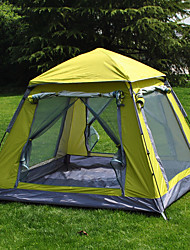 cheap -3-4 persons Screen House Tent Single Camping Tent One Room Automatic Tent Well-ventilated Waterproof Ultraviolet Resistant for Camping /