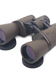 cheap -20 X 50mm Binoculars Anti Fog / High Definition / Matte Coffee / Shock Resistant / Wide Angle / Porro / Hunting / Bird watching