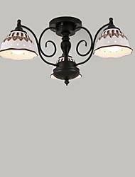 preiswerte -60w bündig montiert modern / zeitgenössische Malerei Merkmal für Mini-Stil Metall Wohnzimmer / Schlafzimmer / Küche