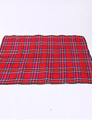 Недорогие -Пикник Одеяло На открытом воздухе Сохраняет тепло Хлопок Отдых и Туризм На открытом воздухе Путешествия Осень