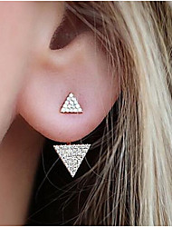 cheap -Women's Stud Earrings - Fashion Gold / Silver For Daily