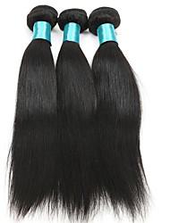 Straight Hairs 3 Bundles Brazilian Virgin Hairs 300g Real Human Hair Weft Brazilian Texture Women Hair Extensions