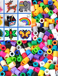 Approx 1000PCS 5MM Mixed Perler Beads Fuse Beads Hama Beads DIY Jigsaw EVA Material Safty for Kids