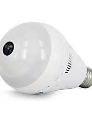 HD 960P 1.3MP Bulb Light Wireless IP Camera Wi-fi FishEye 360 Degree Home Security WiFi Camera Panoramic