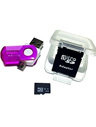 4gb microsdhc tf карта памяти с 2 в 1 usb otg card reader micro usb otg