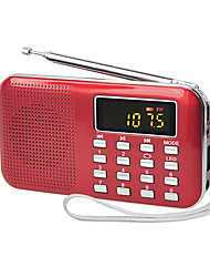 Y-896 Tragbares Radio MP3-Player TF-KarteWorld ReceiverGold Weiß Schwarz Rot Blau