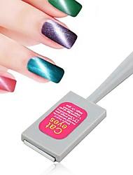 Pinpai 1PCS Cat Nail Rubber Mate Special Bar Magnet for Magnet 3D Magic Eye Cat Eye Gel Magnet Nail Tools Cosmetic Nail kits