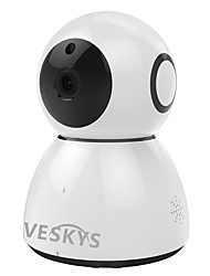 cheap -VESKYS 2.0 MP Indoor with Day Night 64(Built-in speaker Built-in Microphone Day Night Motion Detection Dual Stream Remote Access Plug and