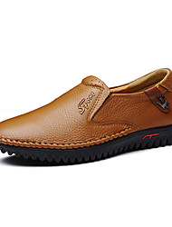 Men's Loafers & Slip-Ons Formal Shoes Driving Shoes Comfort Light Soles Spring Fall Real Leather Cowhide Nappa Leather Wedding Athletic