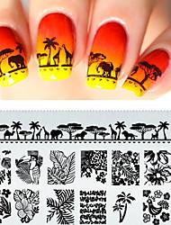 preiswerte -1 Other Nagel Stamping Vorlage Alltag Modisch Gute Qualität