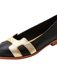cheap -Women's Loafers & Slip-Ons Comfort Ballerina Light Soles Spring Summer Real Leather Nappa Leather Casual Outdoor Split Joint Low Heel