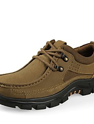 cheap -Men's Athletic Shoes Driving Shoes Comfort Fall Winter Real Leather Nubuck leather Cowhide Nappa Leather Hiking Shoes Athletic Casual