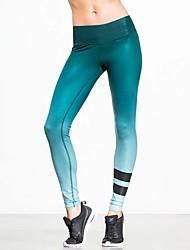 Da donna A vita medio-alta Sensuale Attivo Media elasticità Chino Pantaloni della tuta Pantaloni,Taglia piccola Tinta unita