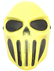 cheap -1pc All Occasions Halloween Decorations Skulls Holiday Fantasy Halloween Costume Props & Kits Birthday Halloween Masks Masquerade Masks