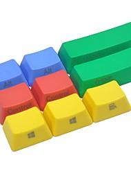 9 tasti tastiera colorata pbt impostata per il lato meccanico stampato lato