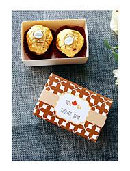 preiswerte -Quader Kartonpapier Geschenke Halter Mit Geschenkboxen Geschenktaschen Süßigkeiten Gläser und Flaschen Kuchenverpackung und Boxen
