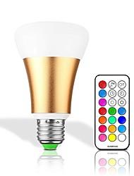 cheap -1pc 10 W 700 lm B22 / E26 / E27 LED Smart Bulbs 1 LED Beads Integrate LED Dimmable / Remote-Controlled / Decorative RGBW / RGBWW 85-265 V / 1 pc / RoHS