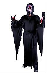 Scheletro/Teschio Costumi da zombie Cosplay Costumi Cosplay Uomo Unisex Halloween Carnevale Giorno della morte Feste/vacanze Costumi