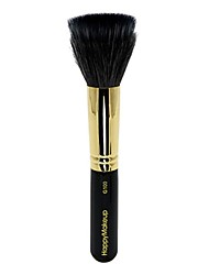 1pc Powder Brush Horse Synthetic Hair Wood Face Cosmetic Beauty Care Makeup for Face