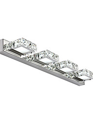 cheap -OYLYW Crystal / Simple / LED Bathroom Lighting Metal Wall Light IP20 90-240V 3W