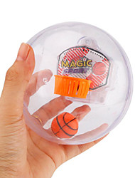 Flashing LED Music Handheld Basketball Palm Shooting Ball Machine Anti Stress Toys for Children Funny Novelty Toys Gift